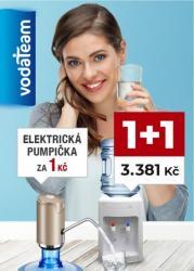 Výhodný SET 1+1 Automat na vodu PRAMÍNEK model 10TB + elektrická pumpička  za 1Kč