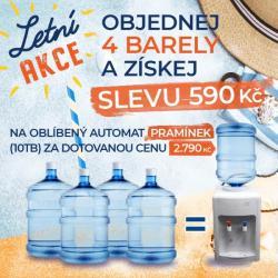ZIMNÍ AKCE - oblíbený automat PRAMÍNEK (10TB) za dotovanou cenu