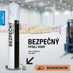 MĚSÍČNÍ NÁJEM  - FMAX ANTI-COVID bezkontaktní automat na vodu